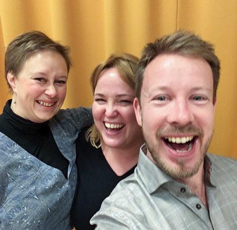 Stråktrio med rötter i Finland